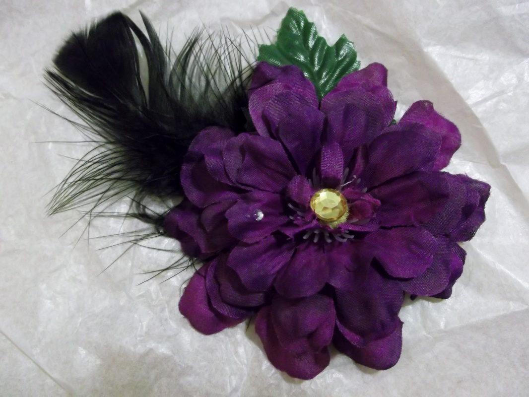 Hair Clips bs & Hats for all Occasions Flowers Just